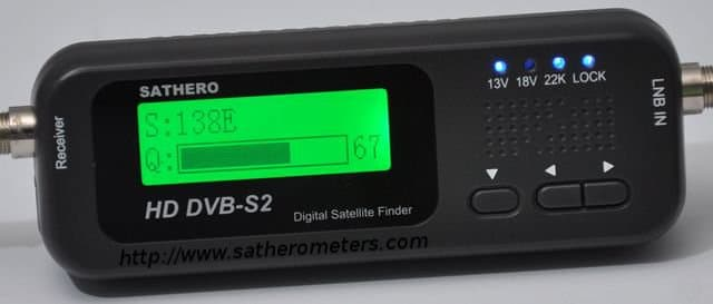 SH-100HD Satellite Finder Meter